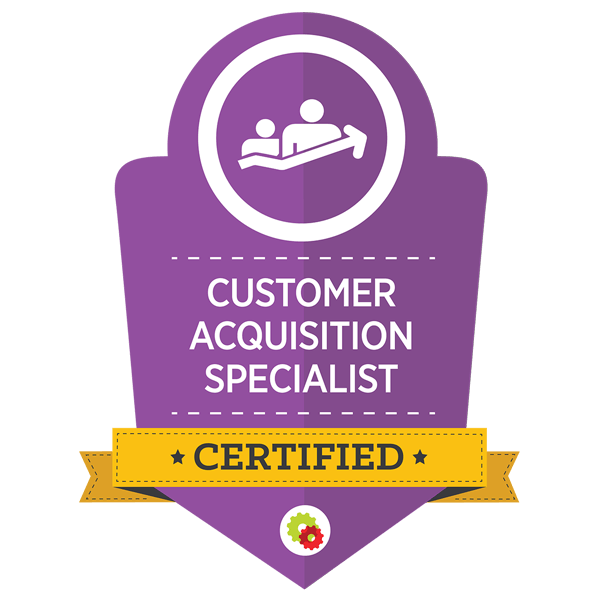Certified Marketing Professional - Customer Acquisition Specialist