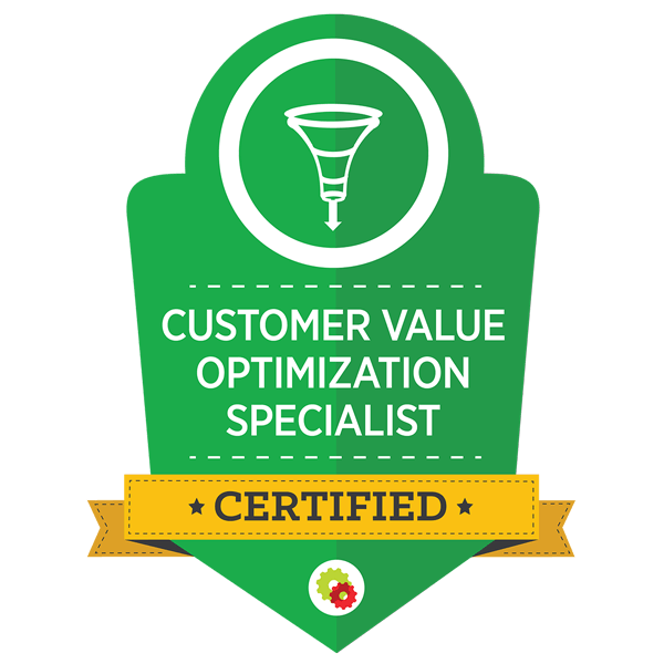 Certified Marketing Professional - Customer Value Optimization Specialist