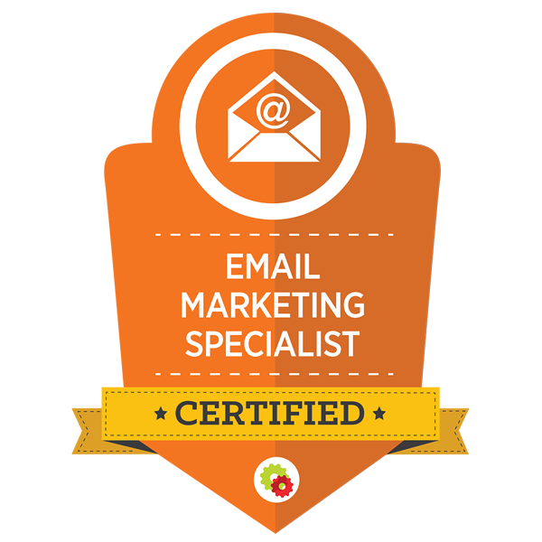 Certified Marketing Professional - Email Marketing Specialist