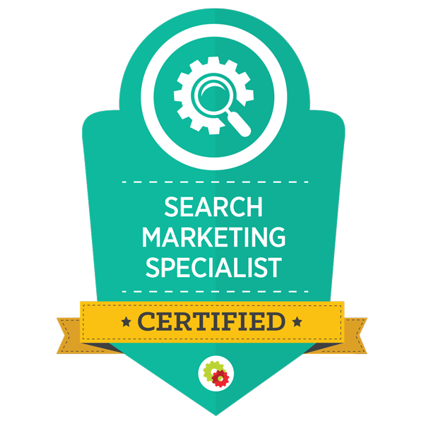 Certified Marketing Professional - Search Marketing Specialist