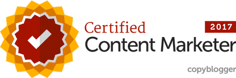 Copyblogger Content Marketing Certified Professional