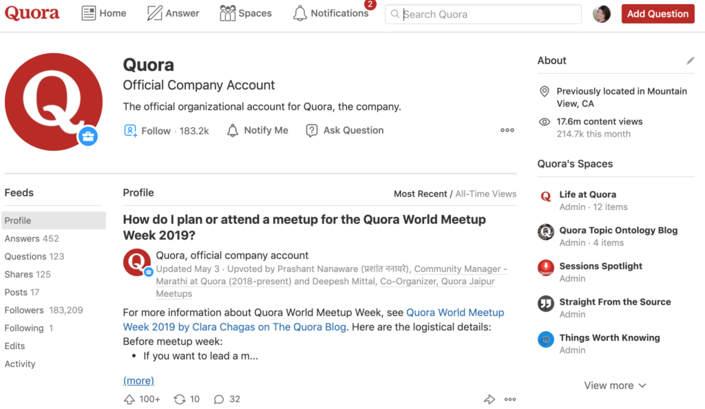 How to Get Verified on Quora