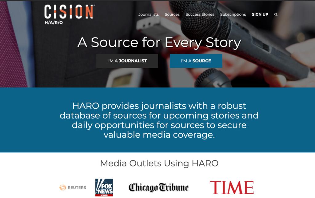 Trending Topics - Content Marketing Tool - HARO